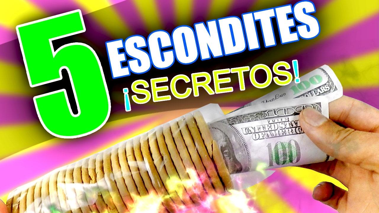 Top 5 mejor escondite secreto para guardar dinero en casa - Escondites secretos en casa ...