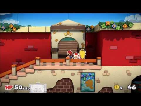 Paper Mario Color Splash 1: New Ports