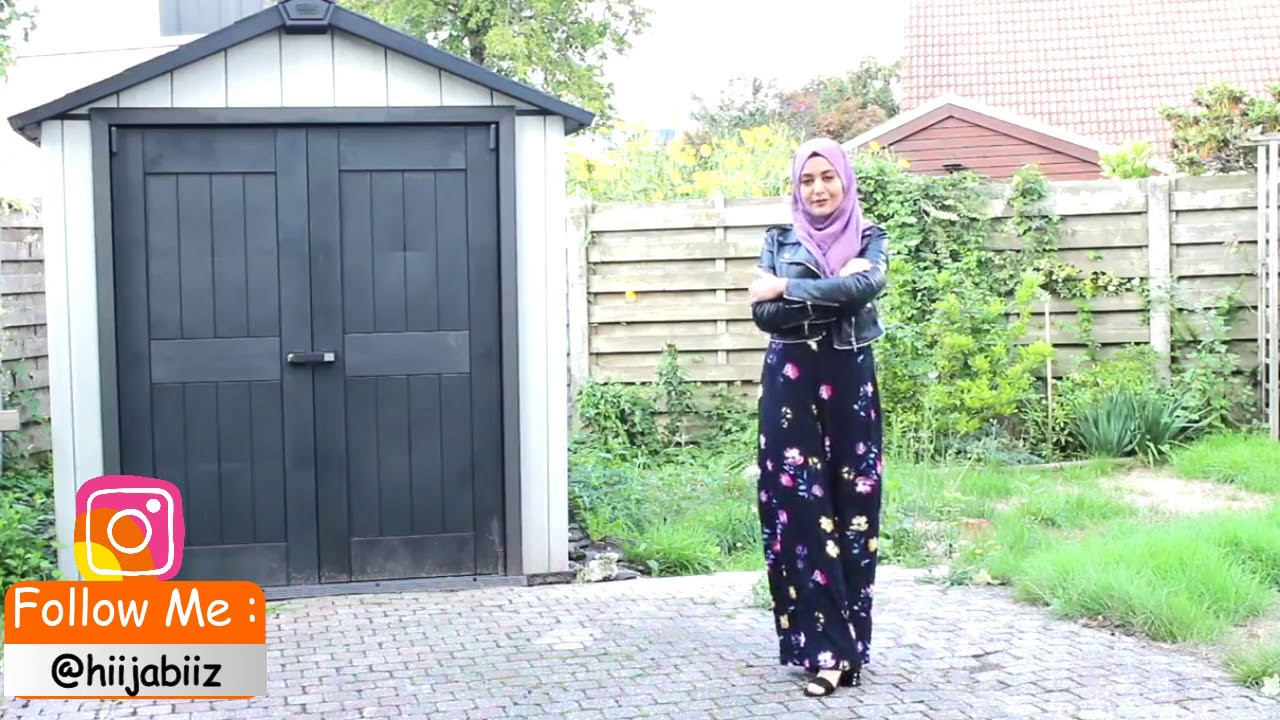 [VIDEO] - تعلمي تنسيق ملابس محجبات بالفيديو |1| Hijab Lookbook Outfit Ideas 3