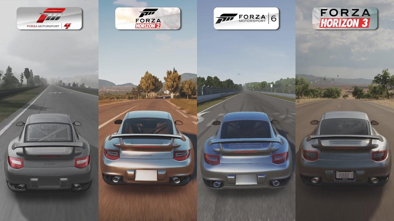 forza 4 vs forza horizon 2 vs forza 6 vs forza horizon 3 porsche 911 gt2 rs sound comparison. Black Bedroom Furniture Sets. Home Design Ideas