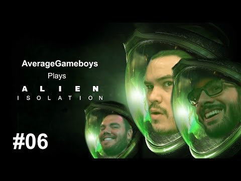 Alien Isolation - Let's Play Part 6: You missed! He was three feet in front of you!