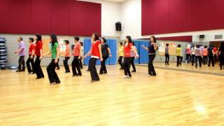 I'm With You - Line Dance (Dance & Teach in English & 中文)