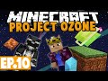 Minecraft Project Ozone - MESS! #10 [Modded HQM Skyblock]