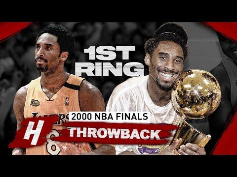 Kobe Bryant 1st Championship, Full Series Highlights vs Pacers (2000 NBA Finals) HD 1080p