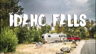 Moving To a Lake Campground near Idaho Falls
