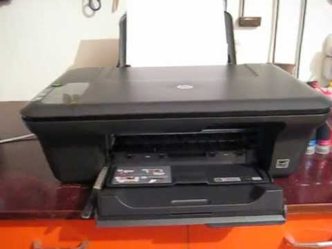 HP Deskjet 2050 J510 Series + СНПЧ