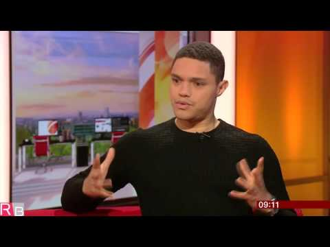 Trevor Noah Interview on BBC Breakfast