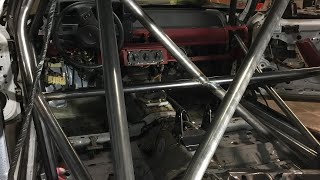How To Build/Install A Rollcage (For Cheap!) Making a Drift Fox Mustang 2