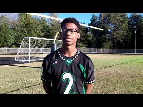 Interview with Caleb Curtain Southwest Guilford Middle School Football
