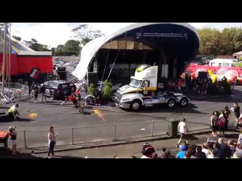 Reuben De Jong truck pull