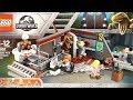 Jurassic Park Velociraptor Chase 75932  - Lego Dinosaurs Fallen Kingdom - Lego Dinosaur Speed Build
