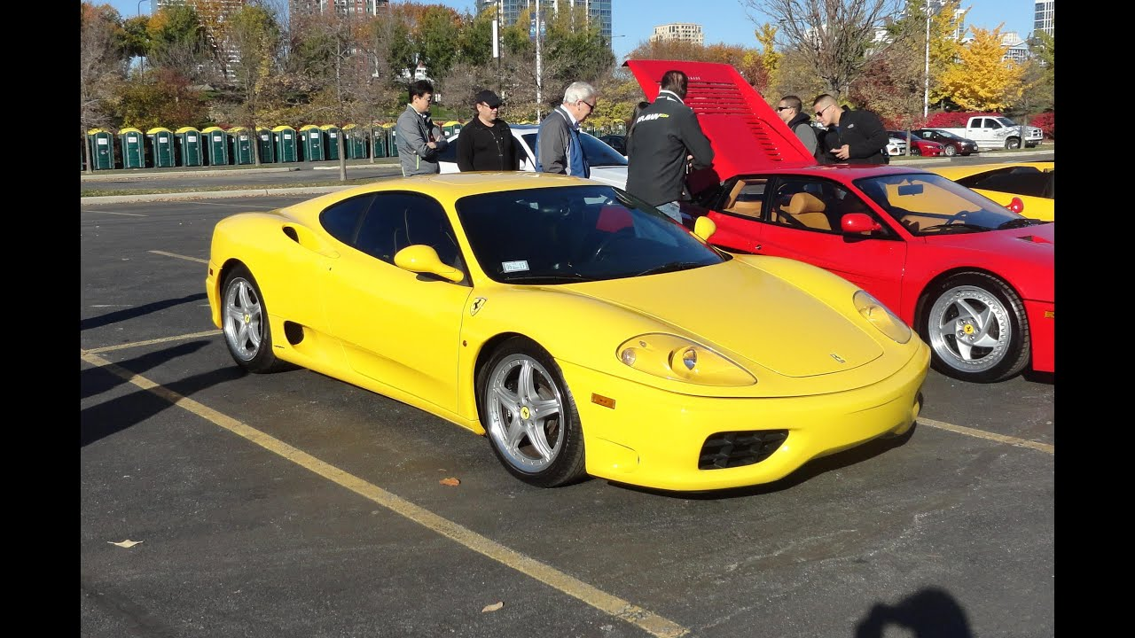 2000 ferrari 360 modena f1 with a rare factory sun roof my car story with lou costabile