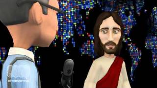 Larry King Interviews Jesus on How Muslims see Him.