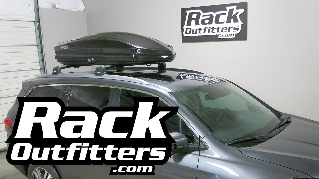 Best Cargo Box For 2016 Honda Pilot The Thule Sonic M Or Xl From Rack Outfitters Youtube