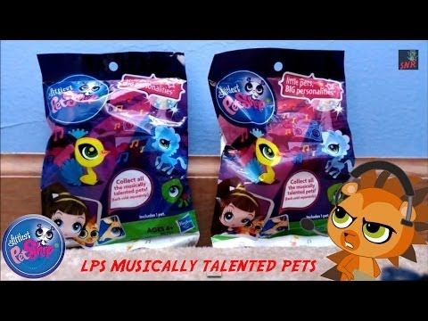 Littlest Pet Shop: Musically Talented Pets Blind Bags Opening (Wave 8)