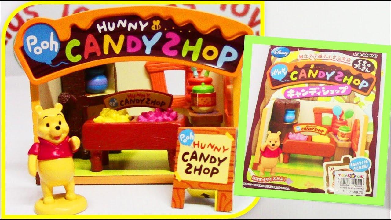 Re-ment Disney Winnie-the-Pooh Hunny Candy Shop Miniature くまのプーさん キャンディショップ