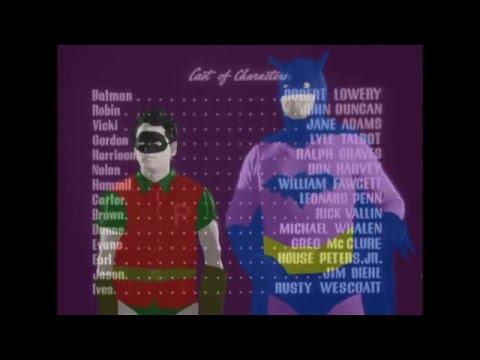 Batman and Robin (1949) -intro colorization- part 1