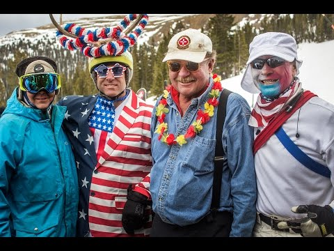 170507 D. B. Tanner's Party - End of Season at Loveland Ski Area 2017
