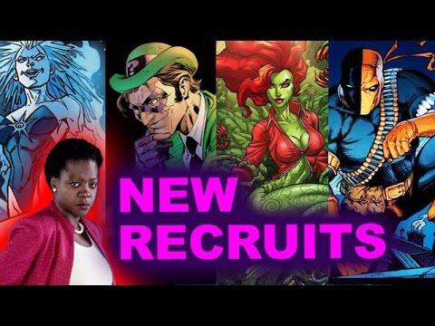 Suicide Squad 2 Sequel – Poison Ivy, Deathstroke, Killer Frost, Riddler