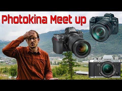 Canon EOS R vs Nikon Z & Fuji XT3 & Photokina Meet-Up - YouTube