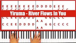 How To Play Yiruma River Flows In You Piano Tutorial  - ♫ ORIGINAL