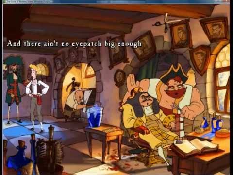 Let's Play Curse of Monkey Island (Blind) Part 4- Barbary Pirates