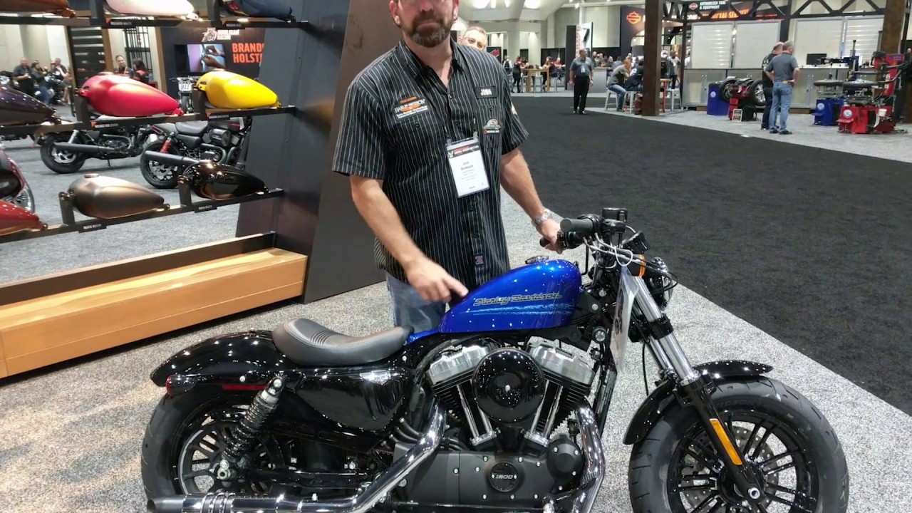 2019 harley davidson sportster 48 forty eight blue max youtube. Black Bedroom Furniture Sets. Home Design Ideas