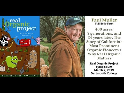 Paul Muller | Real Organic Project Symposium | 03-02-2019