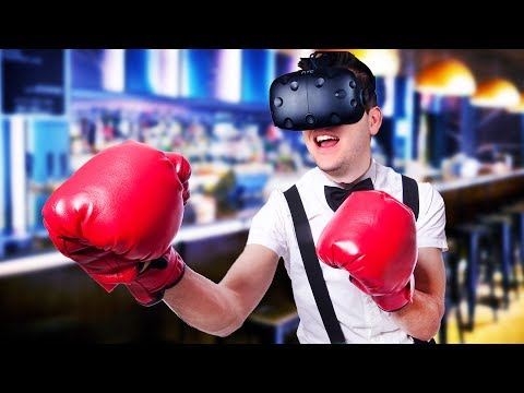 Grab a Beer and Smash Some Heads! - Drunkn Bar Fight Gameplay - HTC Vive VR