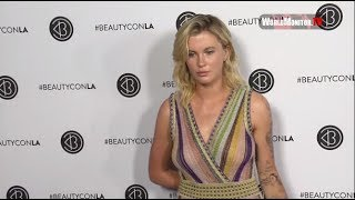 ireland basinger baldwin arrives at 2017 beautycon festival los angeles