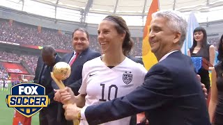 All 3 Points: Carli Lloyd's hat trick lifts USA to World Cup title