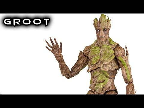 Marvel Legends GROOT Evolution ToysRus Exclusive Action Figure Toy Review