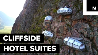 Conquer Your Fear Of Heights At This Cliffside Hotel