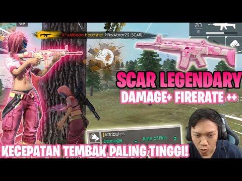 download AUTO BOOYAH SCAR CUPID LOVE! KECEPATAN NEMBAK PALING GAK WAJAR! - Garena Free Fire