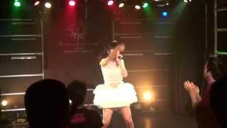2014.8.9club MERCURYにて 初のオリジナル曲「らぶみん♡らびりんす」 ♡♥...