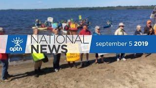 APTN National News September 5, 2019 – Nunavut facing teacher shortage – again, Vancouver tent city