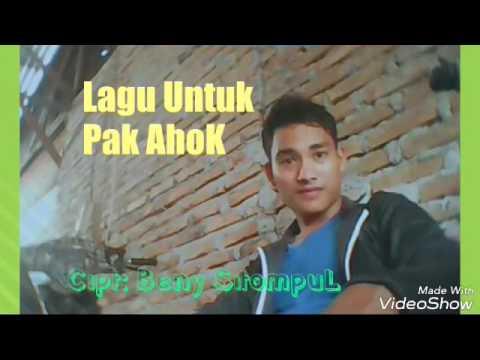 Lagu UNTUK AHOK. Seluruh warga indonesia menangis dengar lagunya dengan lirik yang sangat sedih