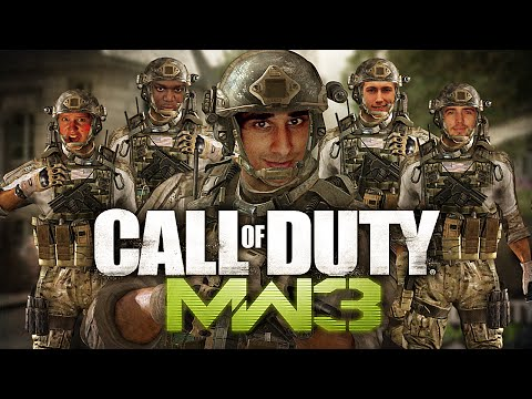 CoD MW3 TDM & Random Facts #1 with The Sidemen