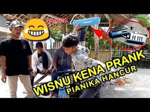 Wisnu Kena PRANK Team Montal Mantul, Langsung R3muk Pianika