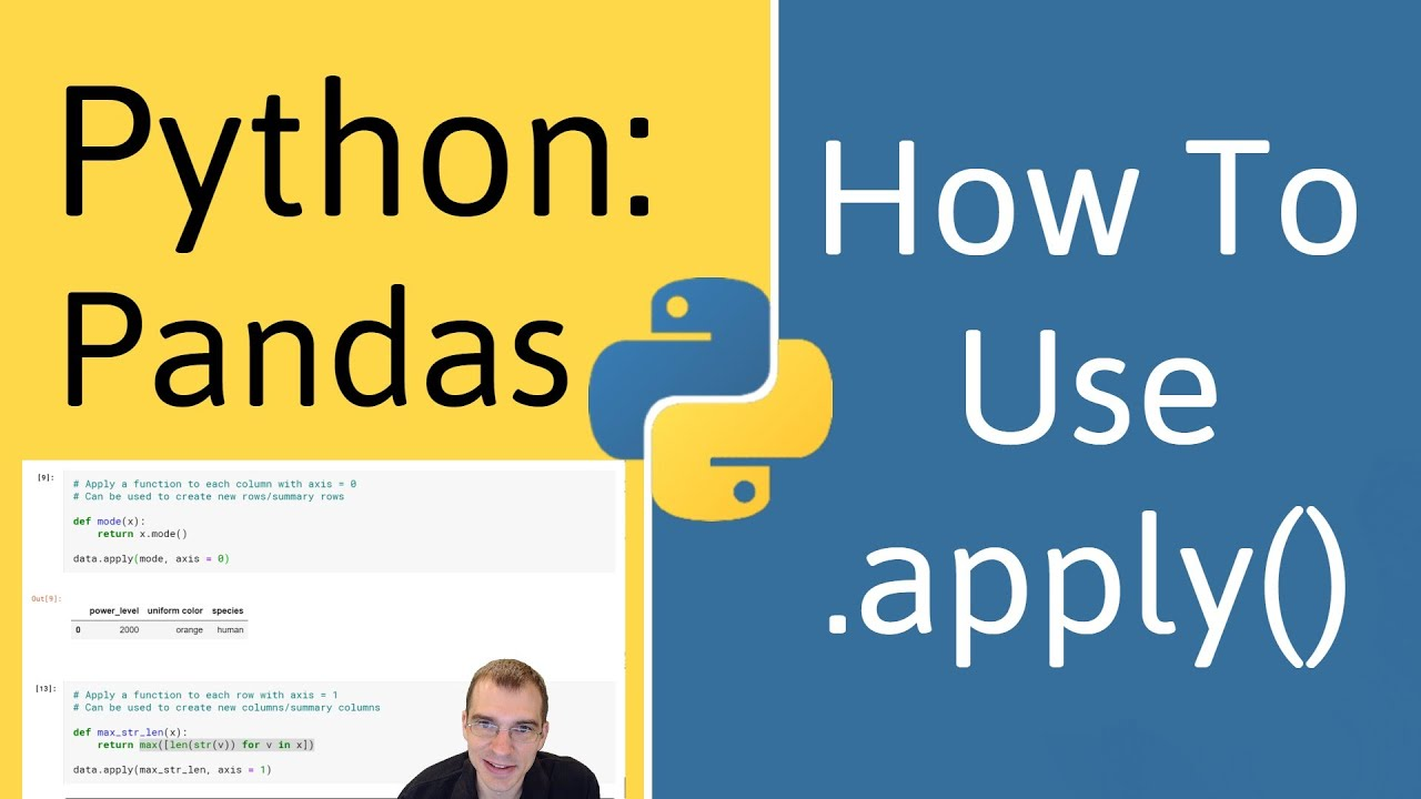 How To Use .apply() In Pandas (Python)