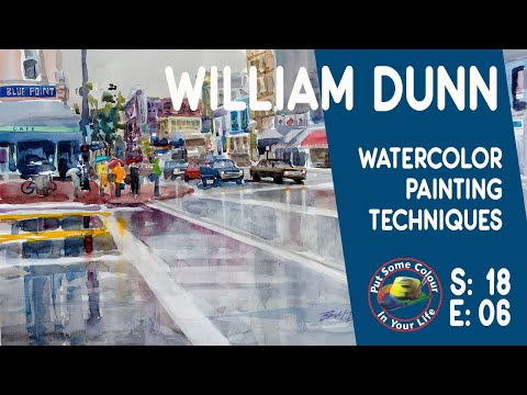 Fine Art Tips with William Dunn on Colour In Your Life