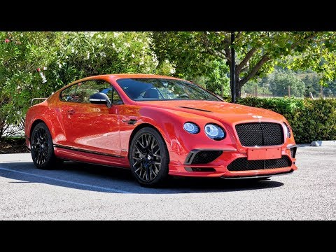 New Bentley Continental Supersports Test Drive