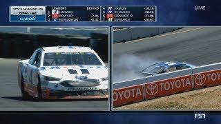 Monster Energy NASCAR Cup Series 2017. Sonoma Raceway. Last Lap