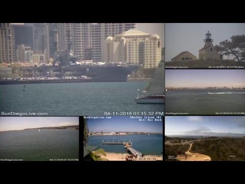 San Diego Web Cam Live Stream