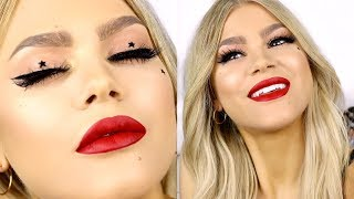 CHIT CHAT GRWM | MY CHRISTMAS MAKEUP FEAT. PRISM PALETTE