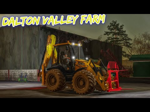 #fs19 Ep 6 On Dalton Valley Farm Single Player