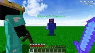KAAN STYLE İLE KORKUNÇ SU CANAVARI İLE SAVAŞTIK 😱 -Minecraft