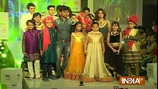 Indian Kids Fashion Week 2015: Kids Walk the Ramp on the First Day - India TV