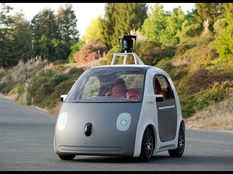 Watch Exclusive Video Google S New Driverless Car Has No Brake Pedal Or Steering Wheel
