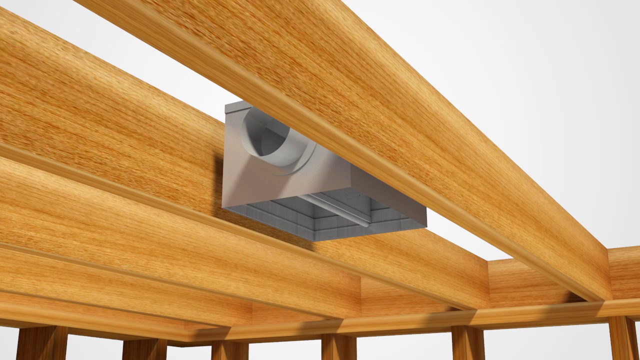 Cfd7 Ul Classified Ceiling Fire Damper Installation For